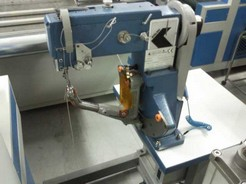 SEWING MACHINE FOR SOLES MOD.FALAN F10-PROD.YEAR 2007