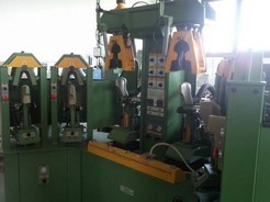 MOULDING MACHINE WITH 4 HOT STATIONS MOD.OLYMPIC POLYFORM TWIN