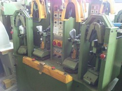 MOULDING MACHINE WITH 2 HOT AND 2 COLD STATIONS MOD.OLYMPIC 84VH