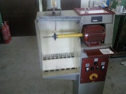SMALL BRUSHING MACHINE MOD. G4 INVERTER PROD. YEAR 2000 SERIAL NUMBER 5100
