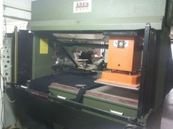 CUTTING MACHINE WITH TROLLEY HEAD MOD.ARES K5/1 22T-PROD.YEAR 2002-SERIAL NUMBER 21812