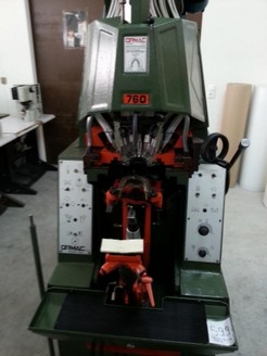 HEEL LASTING MACHINE MOD.ORMAC 760-PROD.YEAR 1991 - SERIAL NUMBER DUUV