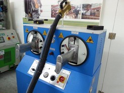 BOOTS IRON MACHINE MOD. FIORETTO BV78/B-PROD.YEAR 2006-SERIAL NUMBER F061064