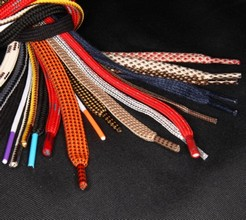 LACES AND CORDS FOR SHOES big variety of qualities and colors