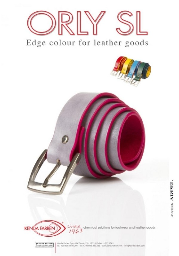 FINISHING PRODUCTS KENDA FARBEN for footwear and leather goods NAT ...